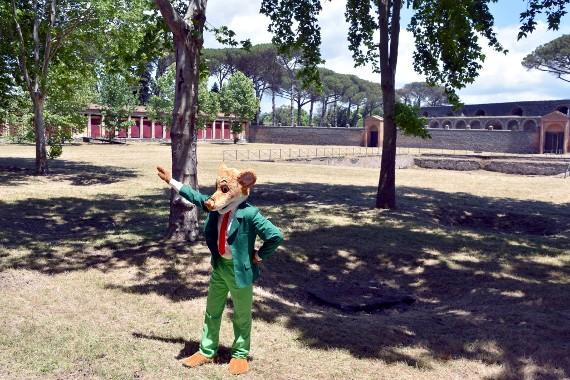 Geronimo Stilton a Pompei