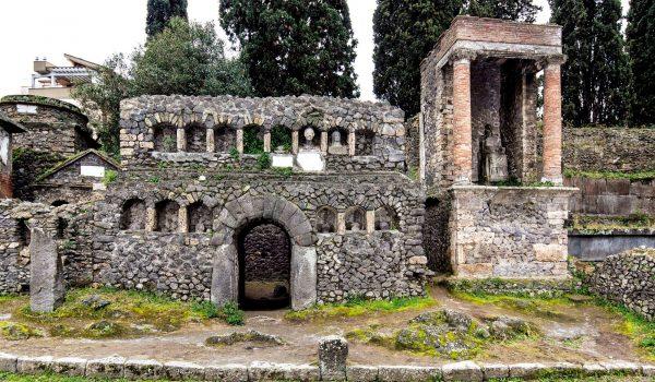 logo del Parco Archeologico di Pompei