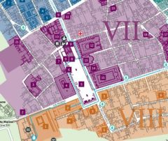 Map And Guide To The Excavations Pompeii Sites