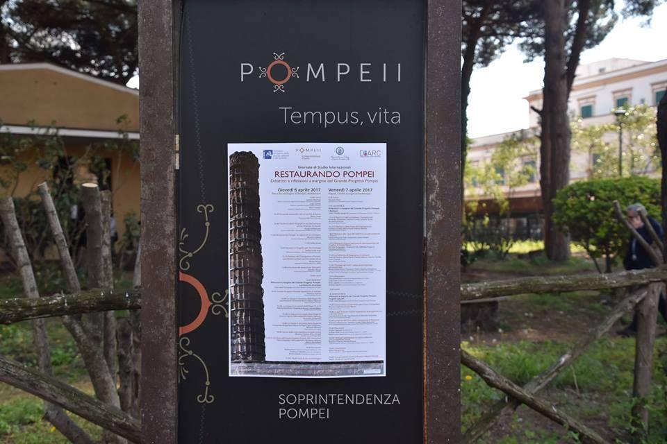 Restaurando Pompei