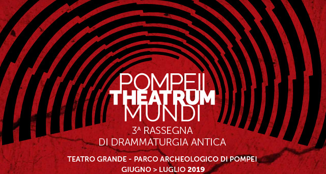 Pompeii Theatrum Mundi, Terza rassegna di drammaturgia antica: IL PARADISO PERDUTO